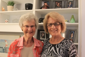 Mary Bould and June Boudreau