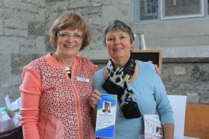 Membership Co-ordinators, Lynn Becker and Marilyn Jackson