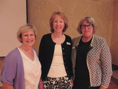 Susan Pine, Cathy Warren, Lenore Begley