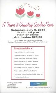 Garden Tour Poster 2016