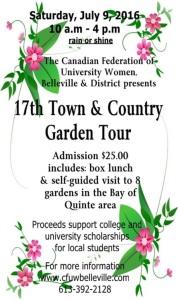 Garden tour 1