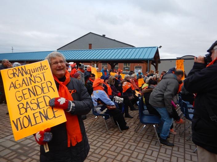 Orange Campaign kick off Nov 25 2018 Mary E Miller